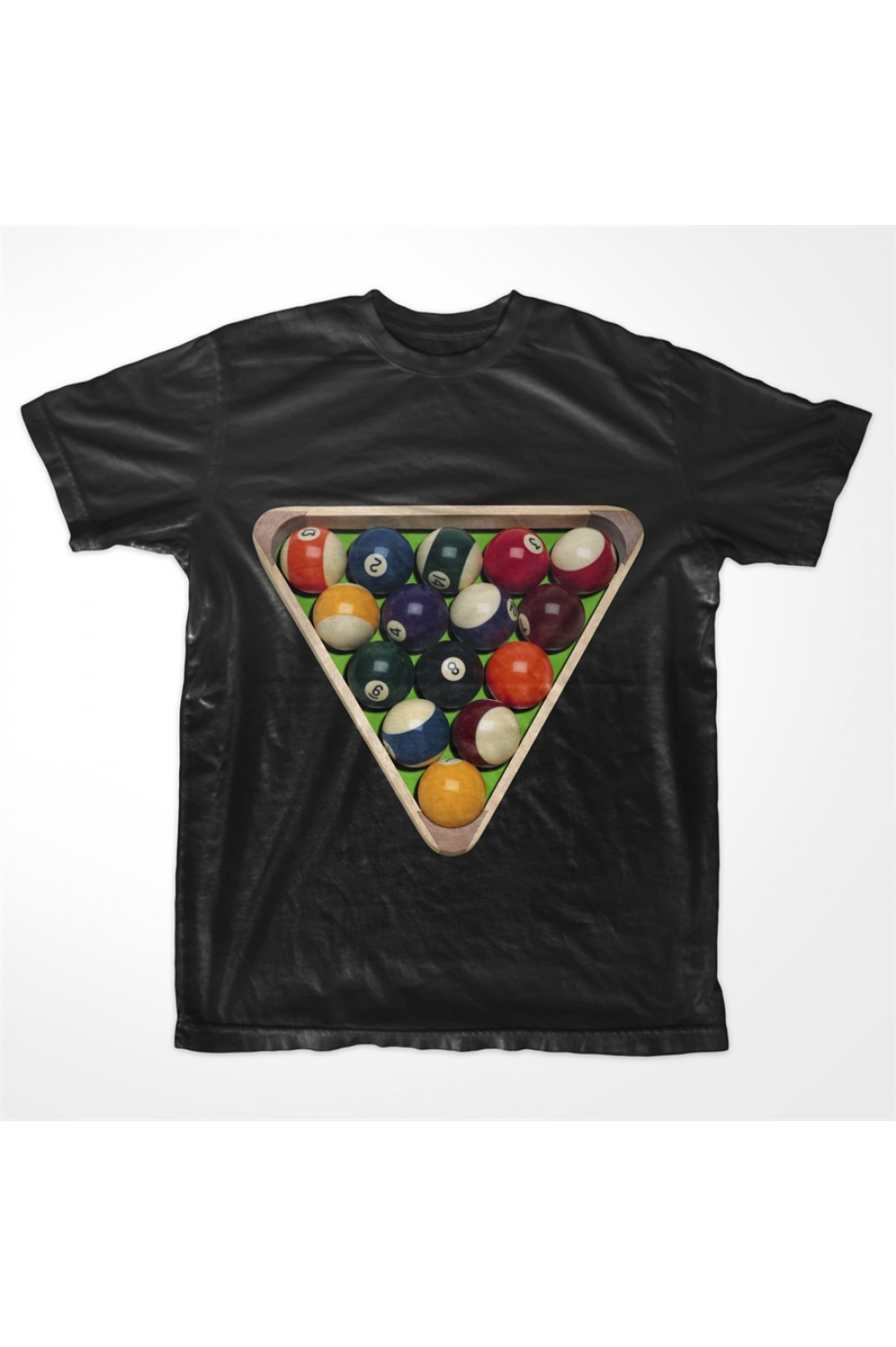 KABOX Men Printed T shirt Snooker